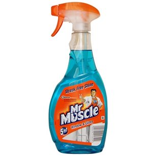 Mr Muscle płyn do szyb niebieski 500ml
