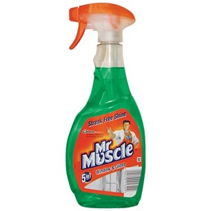 Mr Muscle płyn do szyb zielony 500ml